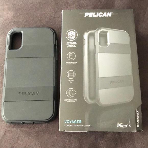 quality design f46d5 2bb38 iPhone X pelican case